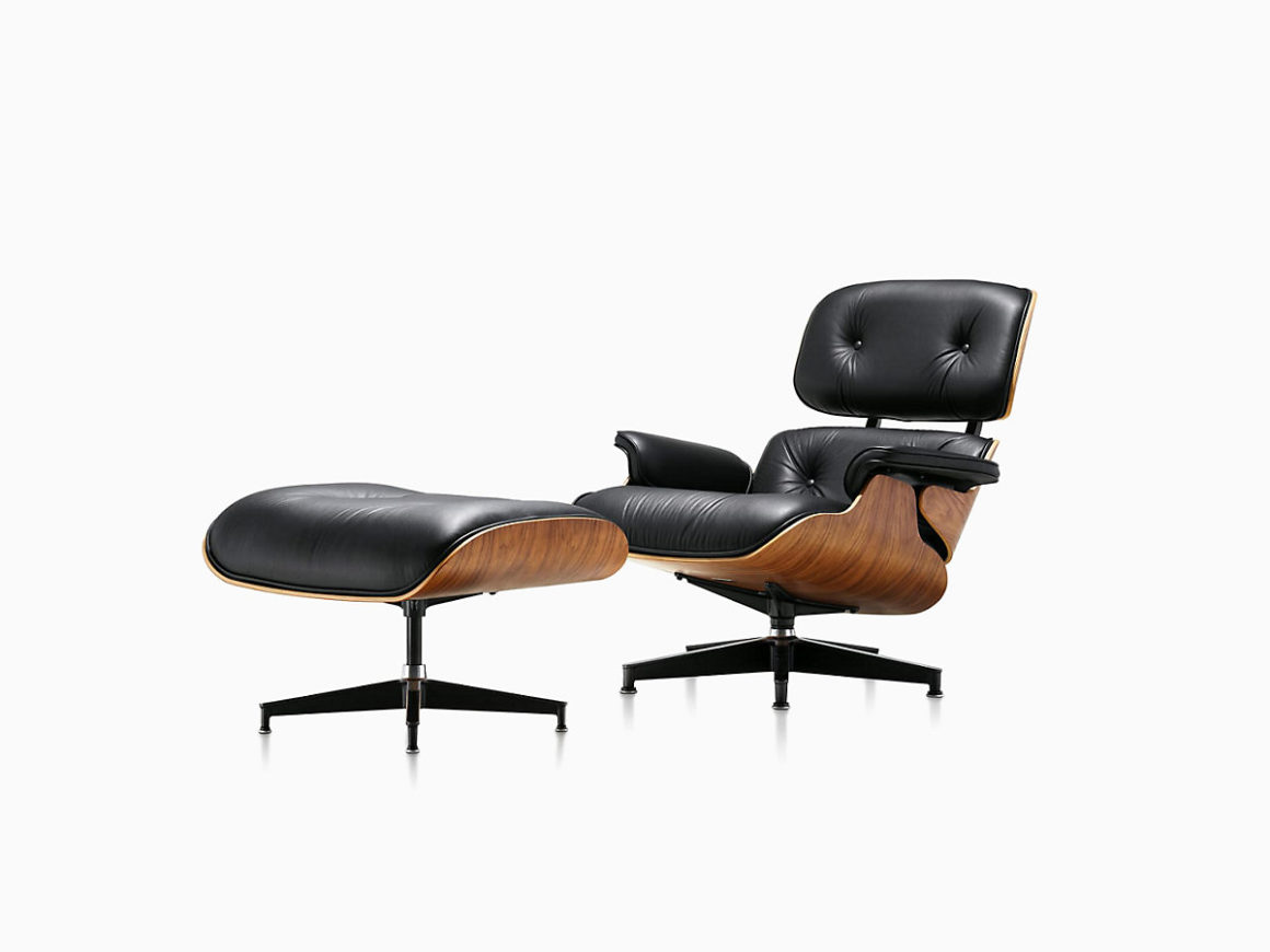 Cadeira Eames Lounge Chair and Ottoman