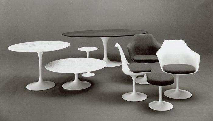 Cadeiras e Mesa Saarinen