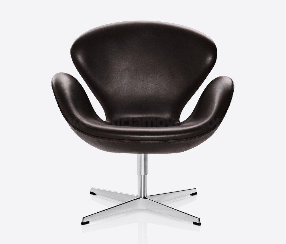 Cadeira Swan Preta