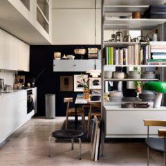 Um Apartamento Sueco Cheio de Contraste