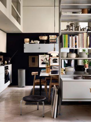 Um Apartamento Sueco Cheio de Contraste   Original Home