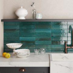 Como Criar Um Banheiro Com Azulejos De Metrô Fresco, Novo E Contemporâneo